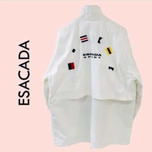 ESCADA Jacket Sailing Yachting White Nautical